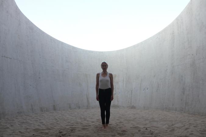 2. Light Travel Standing. Observatory. Casa Wabi. 14-3-2018.