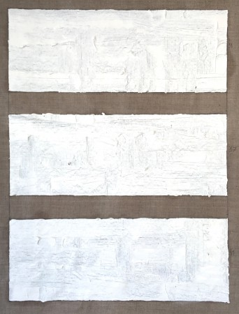 109 Breaths. Oil on linnen. 5-3 2020 13.07-14 100 x 80 cm. (Horizontal awareness) Cph