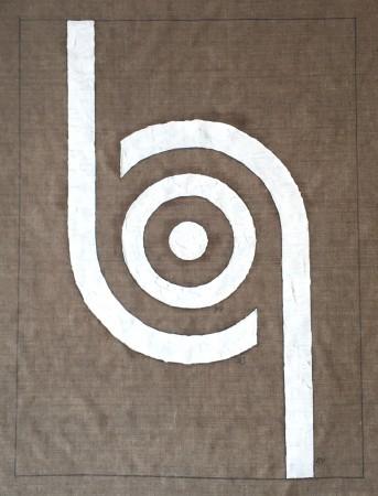 356 Breaths. (circular consciousness 2) oil on linnen. 100 x 80 cm. 17-3-2020 10-11.11. Cph