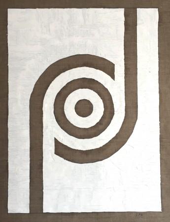 363 Breaths. (circular consciousness 1) oil on linnen. 100 x 80 cm. 17-3-2020. 13-14.08 Cph