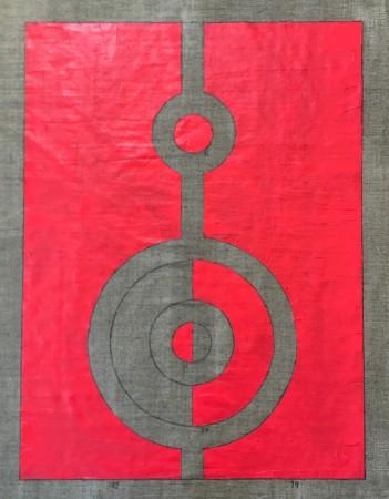 239 Breaths. Oil on Linnen. New Beginning. 15.4.2020 14-15.11. 90 x 70 cm. Copenhagen