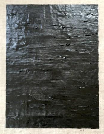 107 Breaths. Oil on linnen. 90 x 70 cm. 2 May 2020. 14.07-14.46. (Vast Space) Copenhagen