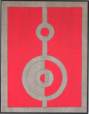 239 Breaths. Oil on Linnen. New Beginning. 15.4.2020 14-15.11. 92 x 72 cm. Copenhagen