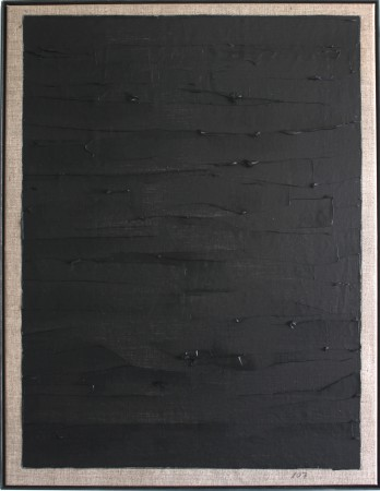 107 Breaths. Oil on linnen. 88 x 68 cm. 2 May 2020. 14.07-14.46. (Vast Space) Copenhagen.