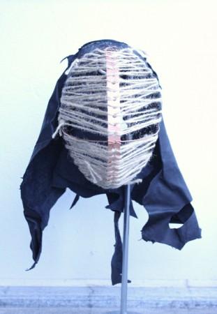 2013. Cobber Tube Hanger Strap, Leather, Twine