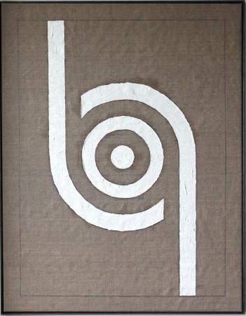 356 Breaths. (circular consciousness 2) oil on linnen. 92 x 72 cm. 17-3-2020 10-11.11. Cph